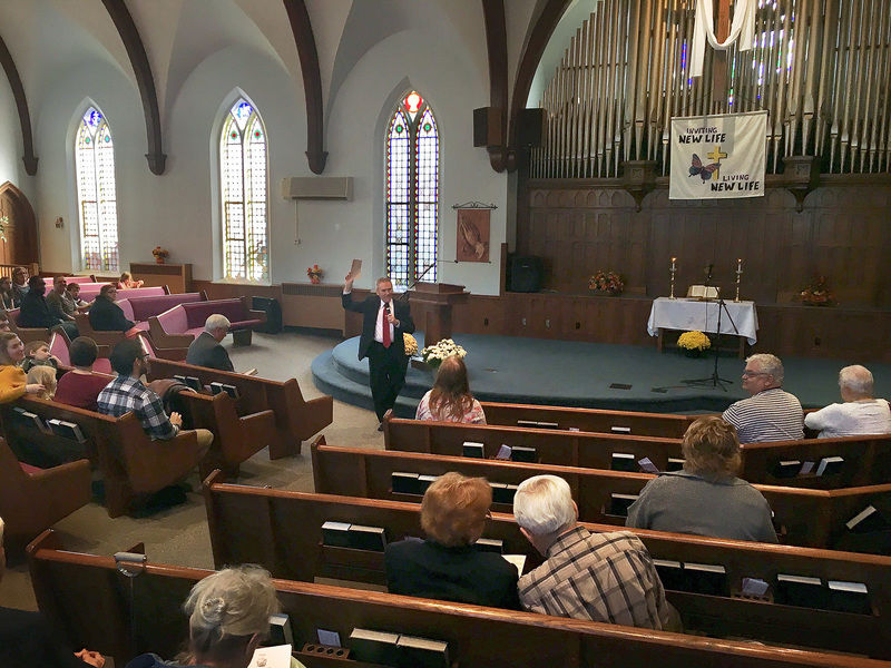 1st Baptist counts its blessings and its 215 years in Sharon rev