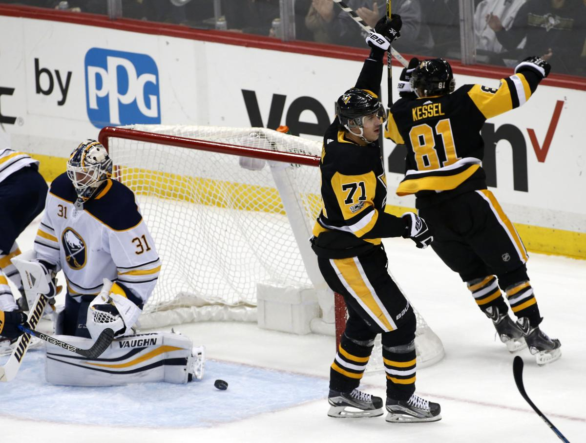 Crosby, Malkin, Pens sweep the Sabres, 5-1 | Sports | sharonherald.com