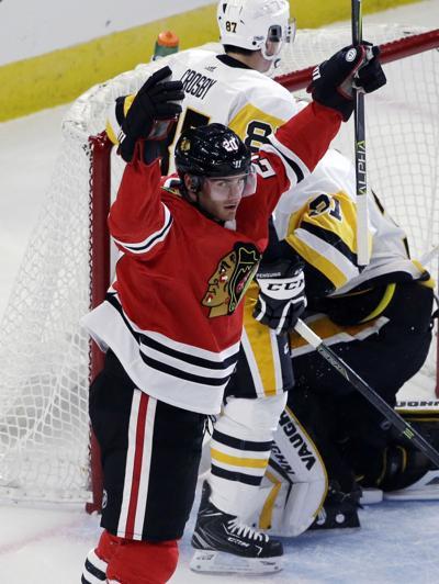 Saad, Blackhawks pound the Penguins, 10-1 | Sports