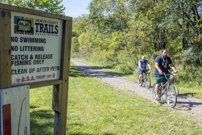 City of Hermitage, Mercer County Trails get money for trail expansions