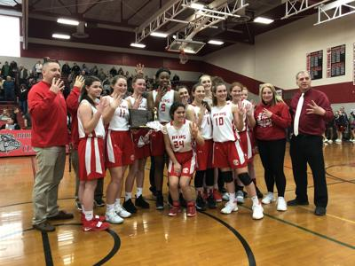 West Middlesex girls District 10 champs