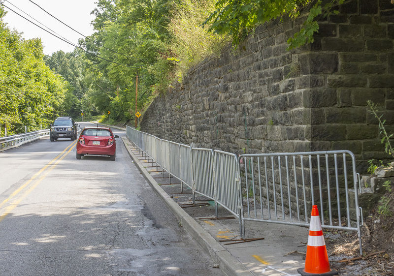 Crumbling retaining wall is Sharon's responsibility