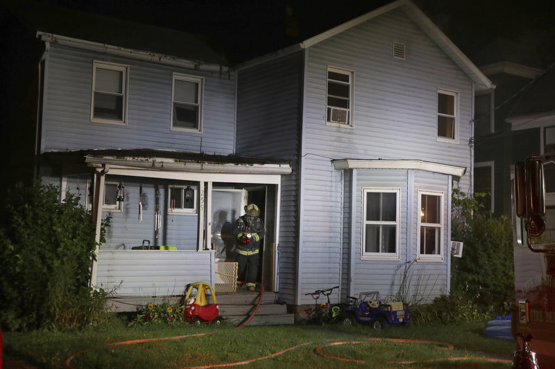 Fire damages Ormond Ave. duplex in Sharon