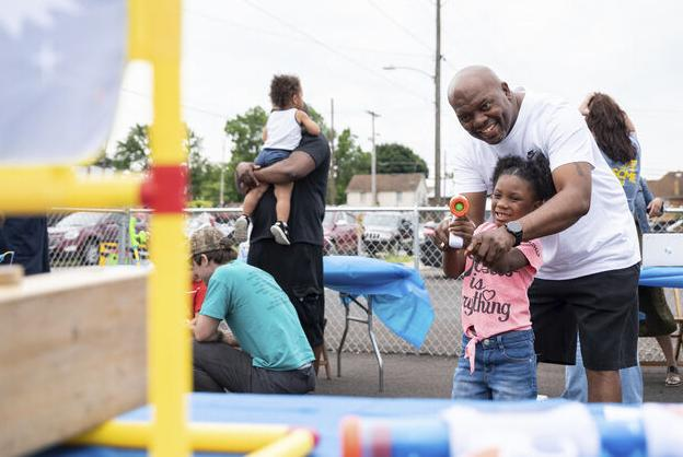 Child center offers a little quality time with dad