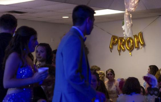 A taste of normal: Life goes on with Grove City prom, drive-in theater event