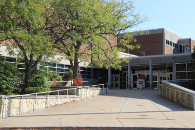 Police report to Sharon H.S. after threat