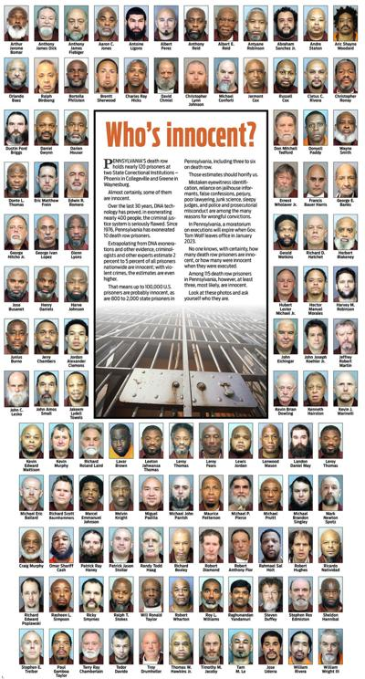 Pennsylvania's 115 death row inmates: Who among them is innocent?