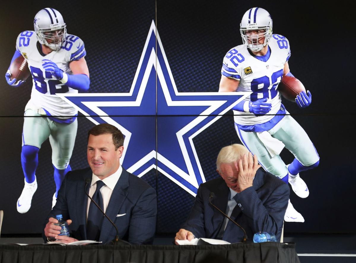 b9538f47 Cowboys' TE Jason Witten retiring for TV job with ESPN | Sports ...