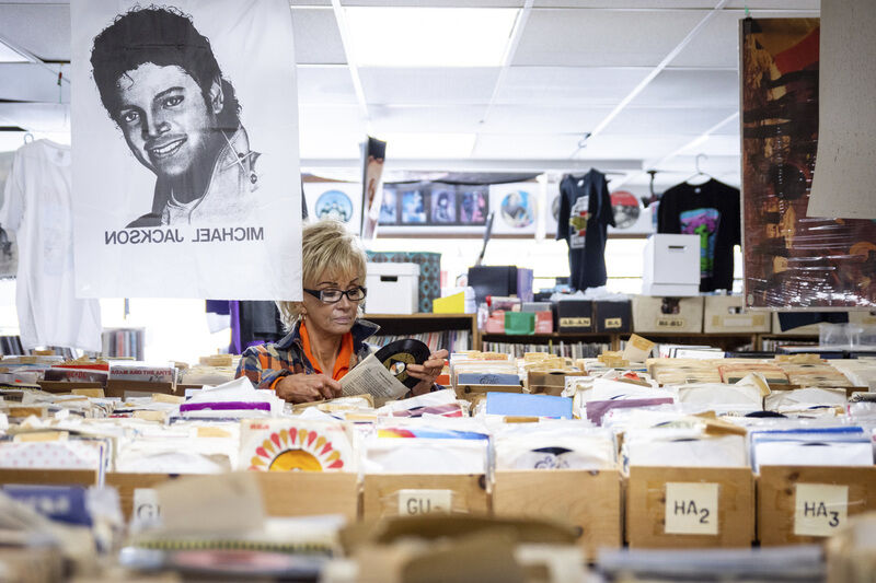 Stacks of wax, tons of toys and a multitude of memories mj