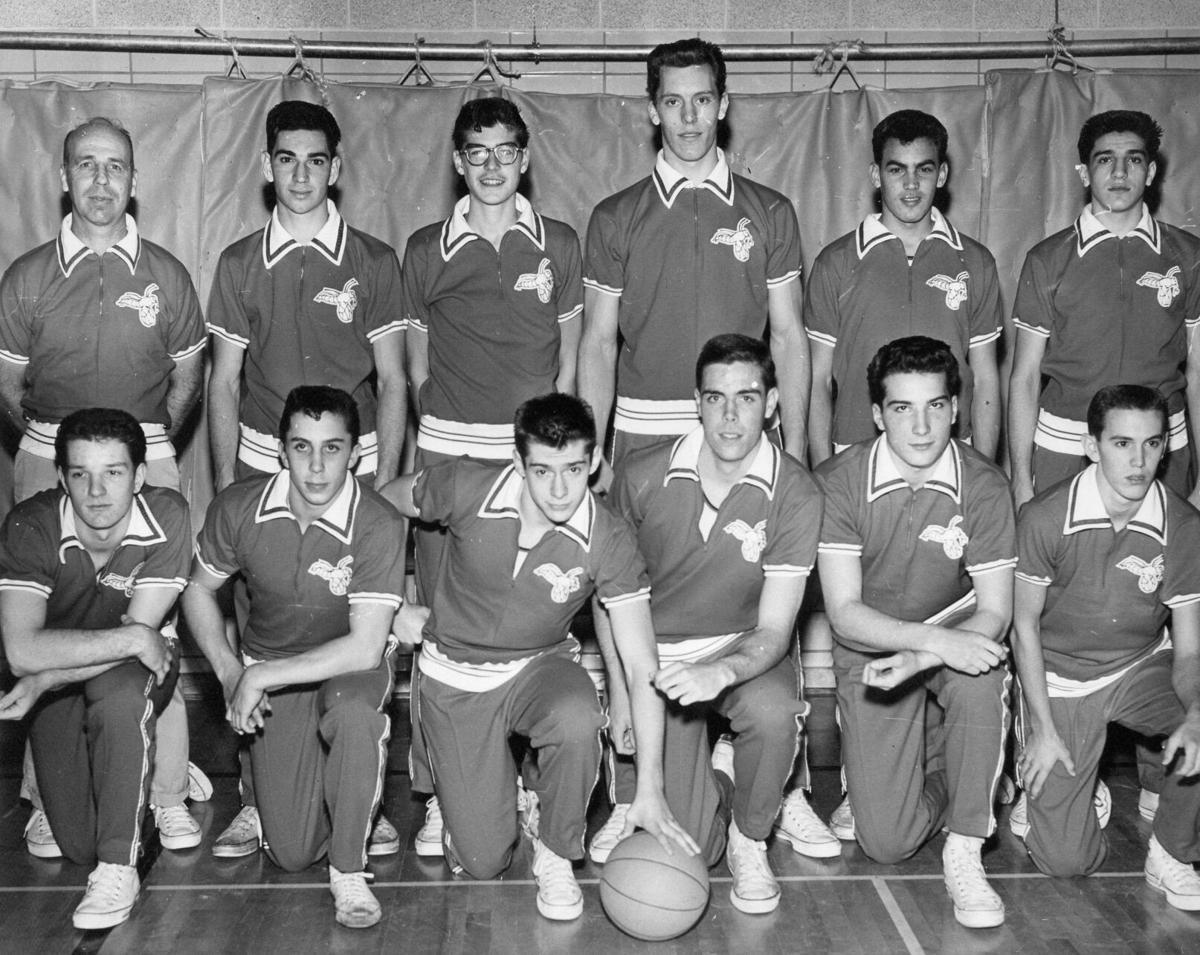 1961 hickory bb team bw glossy.jpg