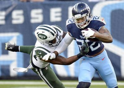 APTOPIX Jets Titans Football