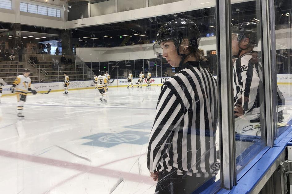 In NHL first, 4 women selected to officiate prospect games