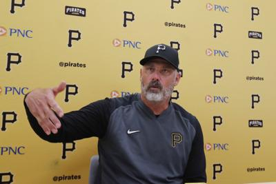 Pirates First Year Curveball Baseball