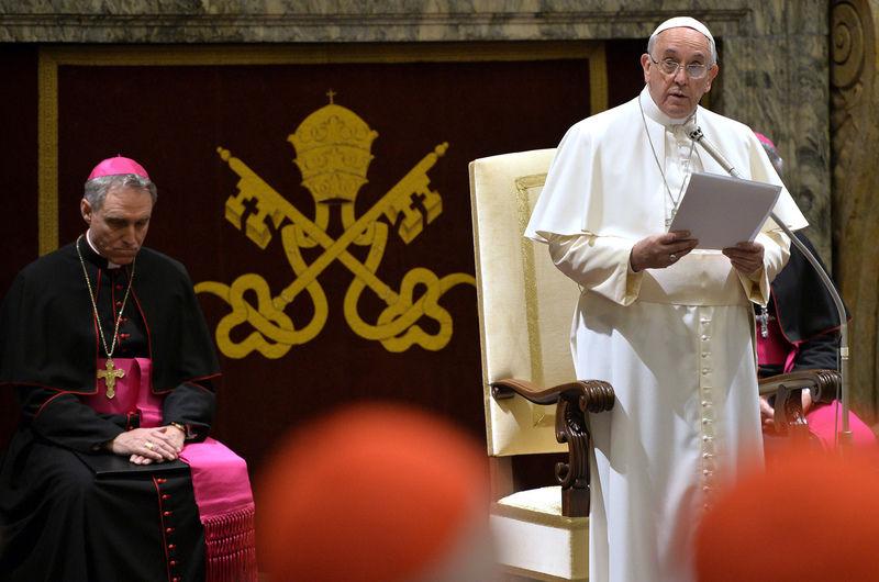 Pope issues blistering critique of Vatican bureaucrats