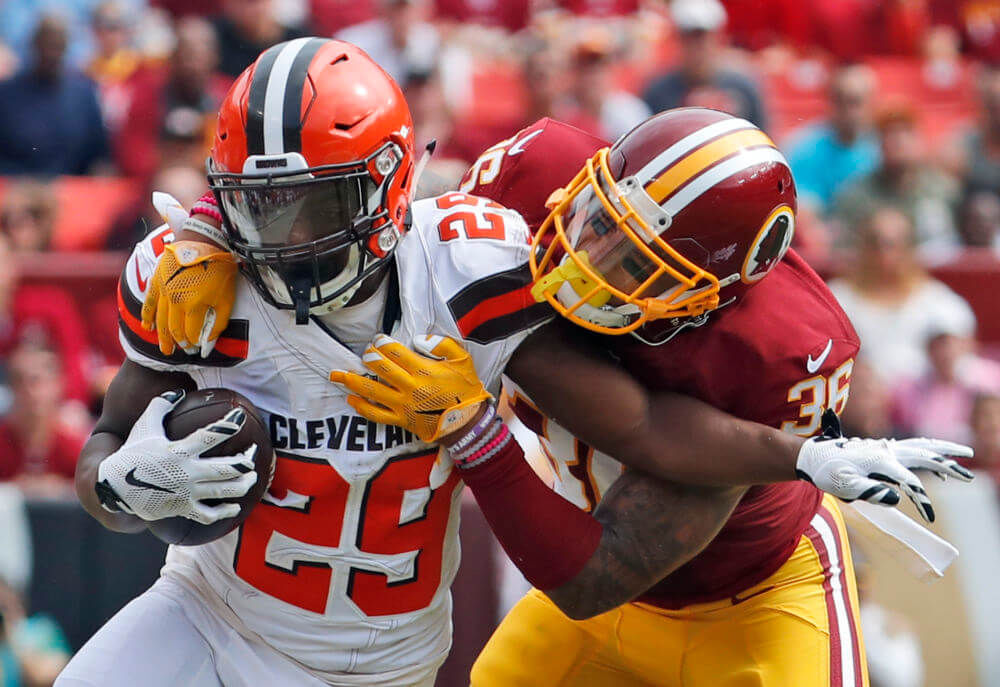Cleveland Browns safety Ed Reynolds to miss time with left knee injury