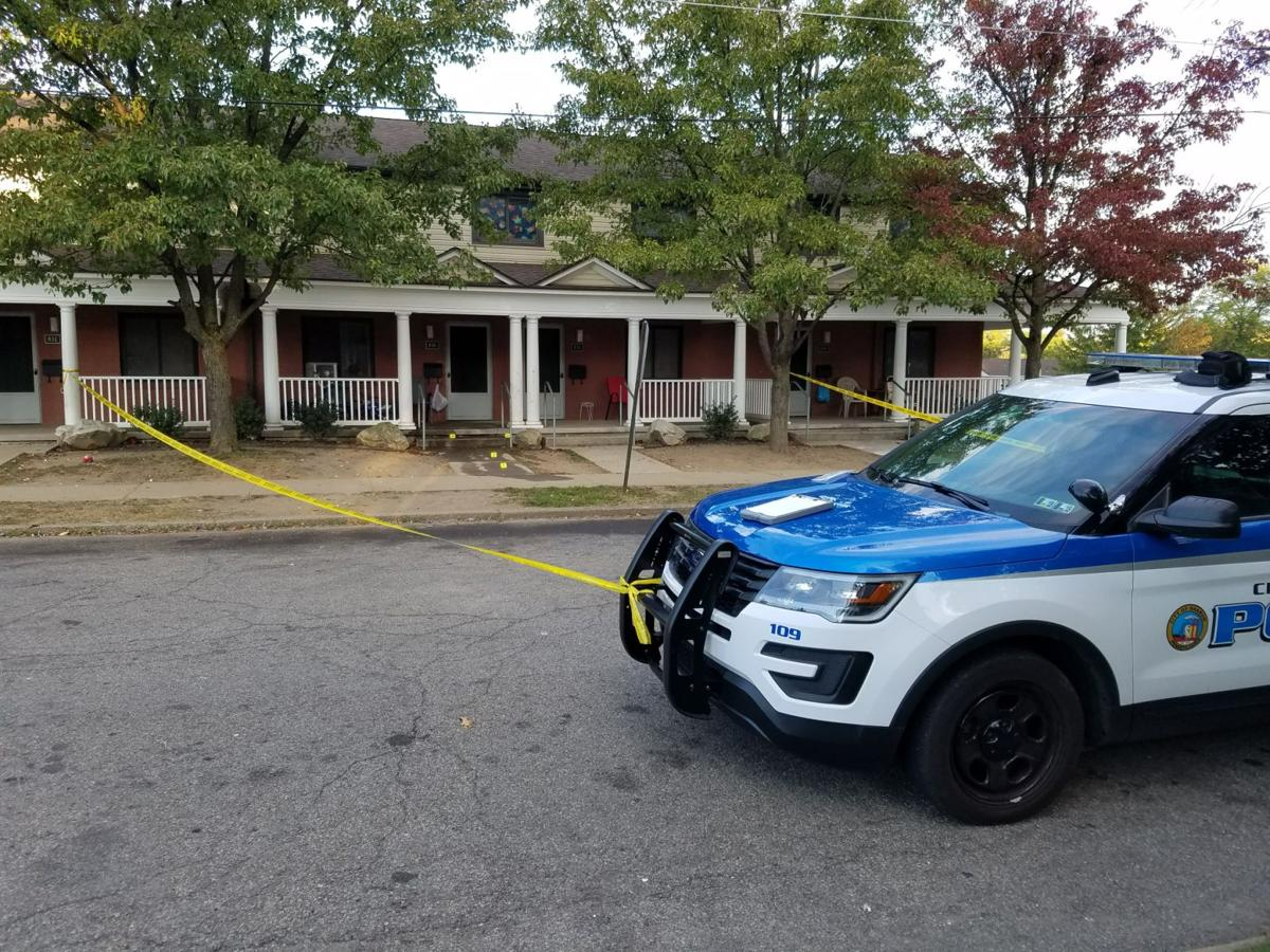 Sharon crime scene