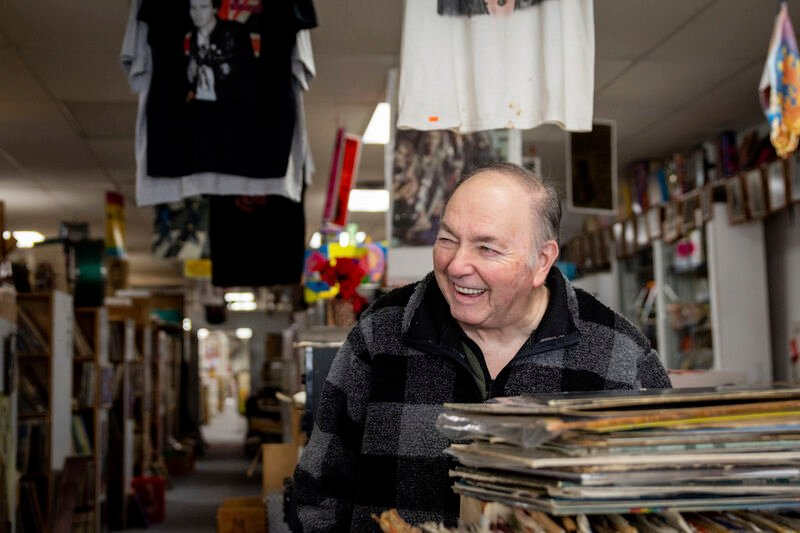 Stacks of wax, tons of toys and a multitude of memories rj laugh