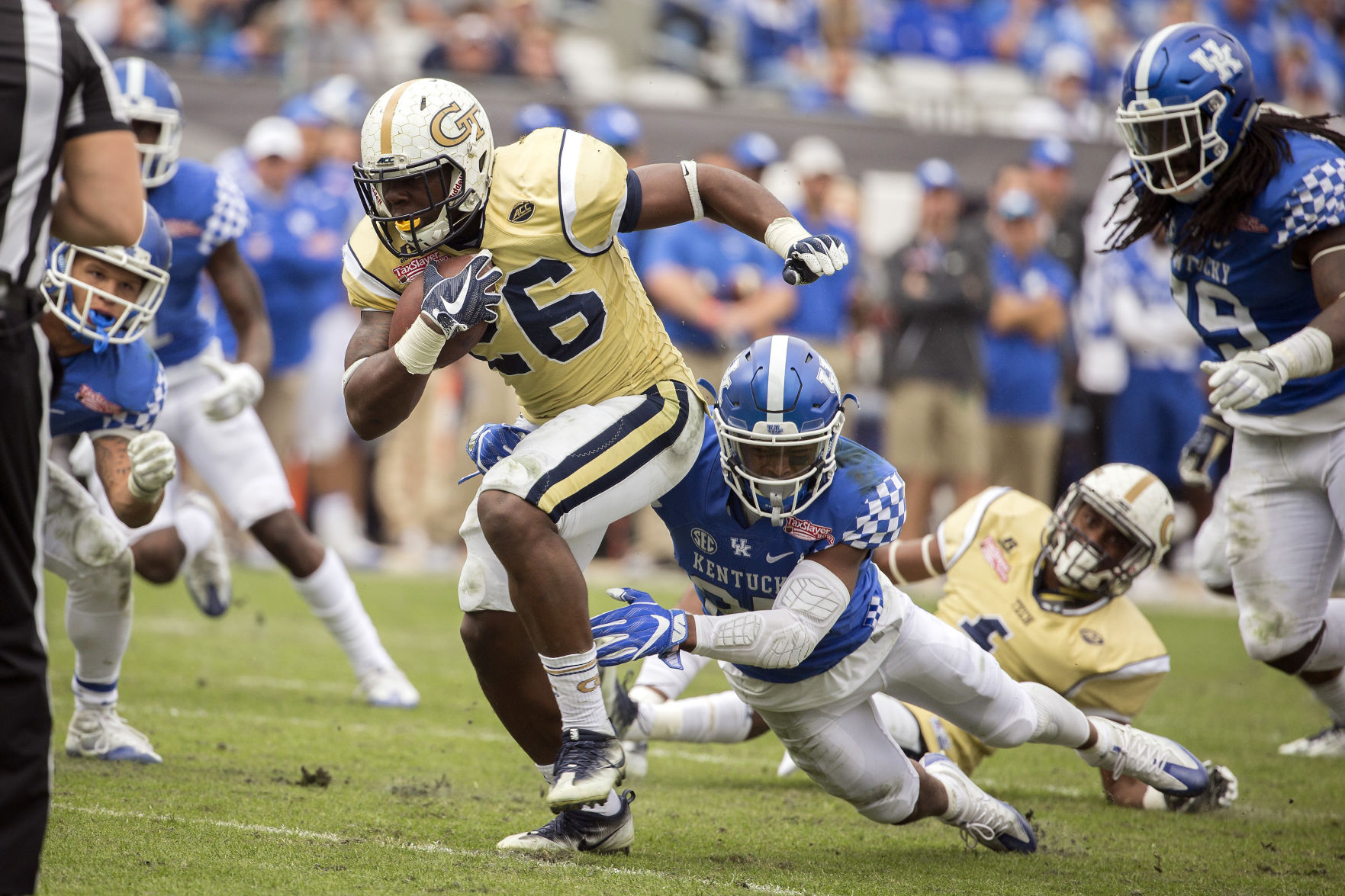 Georgia Tech kicks star running back off team