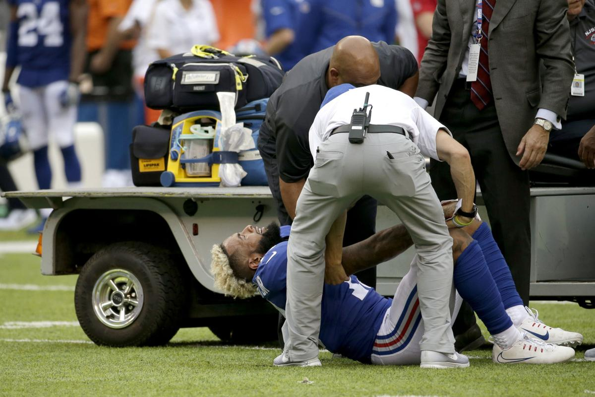 Giants\' Beckham to have ankle surgery this week | Sports ...