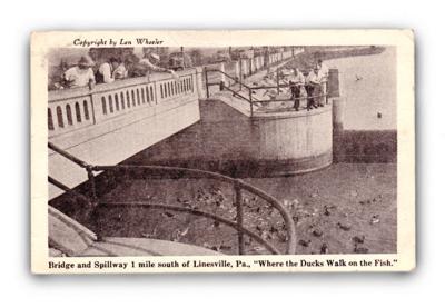 Spillway postcard