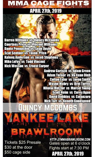 MMA event set for Saturday at Yankee Lake | Sports