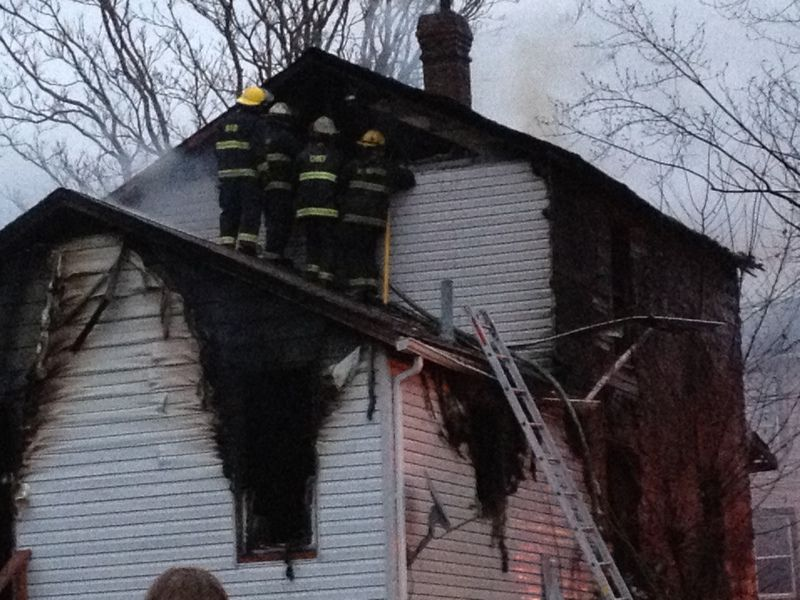 Christmas Day fire leaves family out in the cold