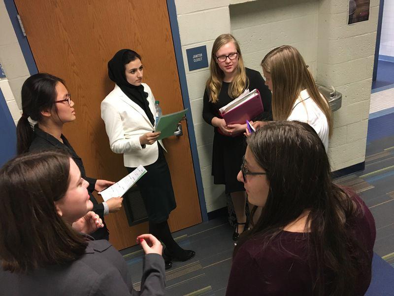 Talking to walls: Mercer speech team among state's top programs
