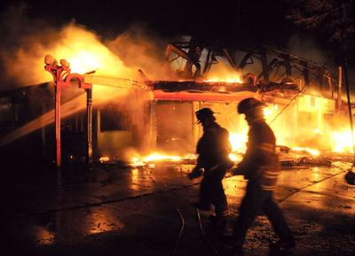 Ballroom burning