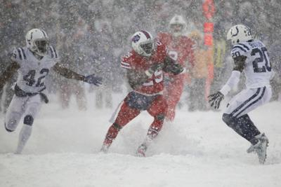 Nfl Capsules Mccoy Slides Through Snow As Bills Beat Colts Sports Sharonherald Com