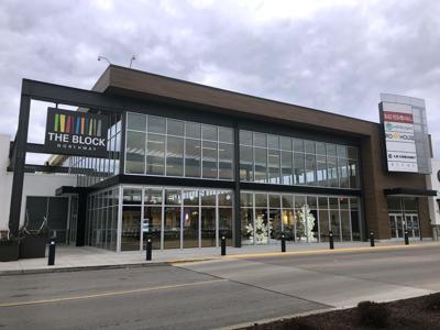 The block exterior