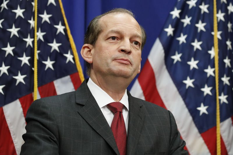 Facing calls for resignation, Acosta defends Epstein deal