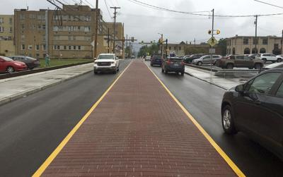 Section of Sharon's State Street reopens to 2-way traffic