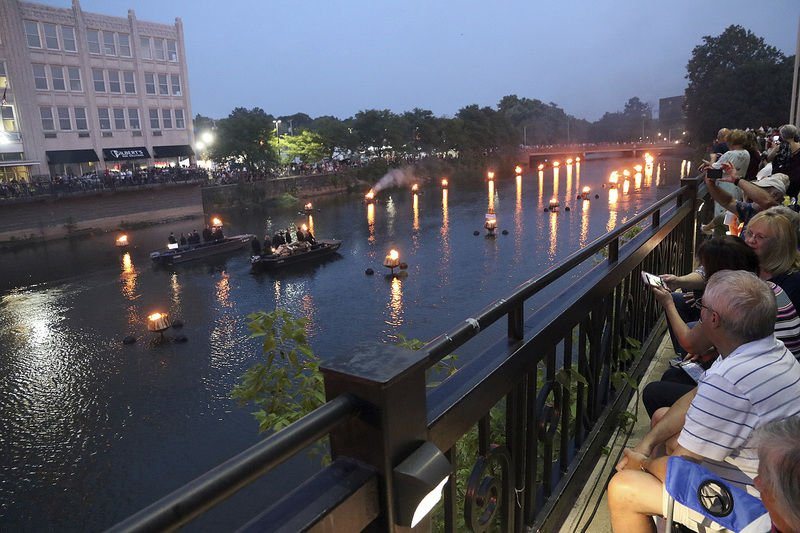 Volunteers fuel WaterFire success lit