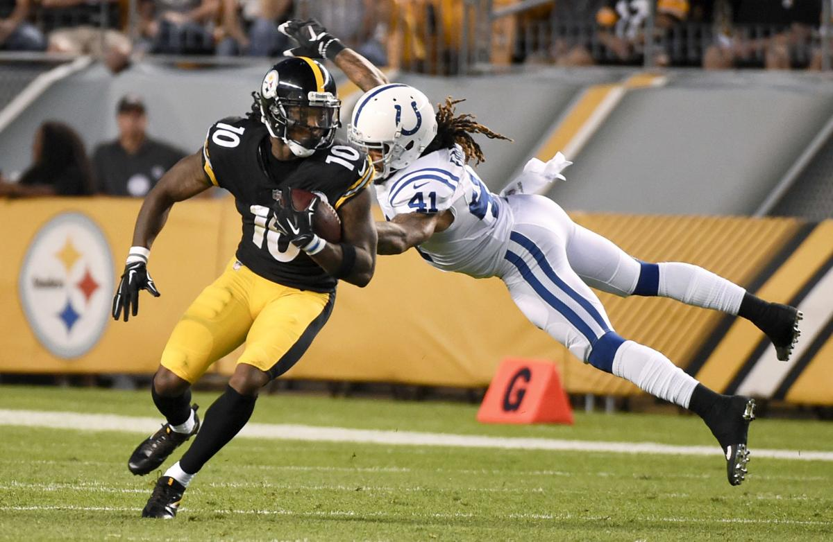 The boys are back Steelers Bryant and Bell OK to play against