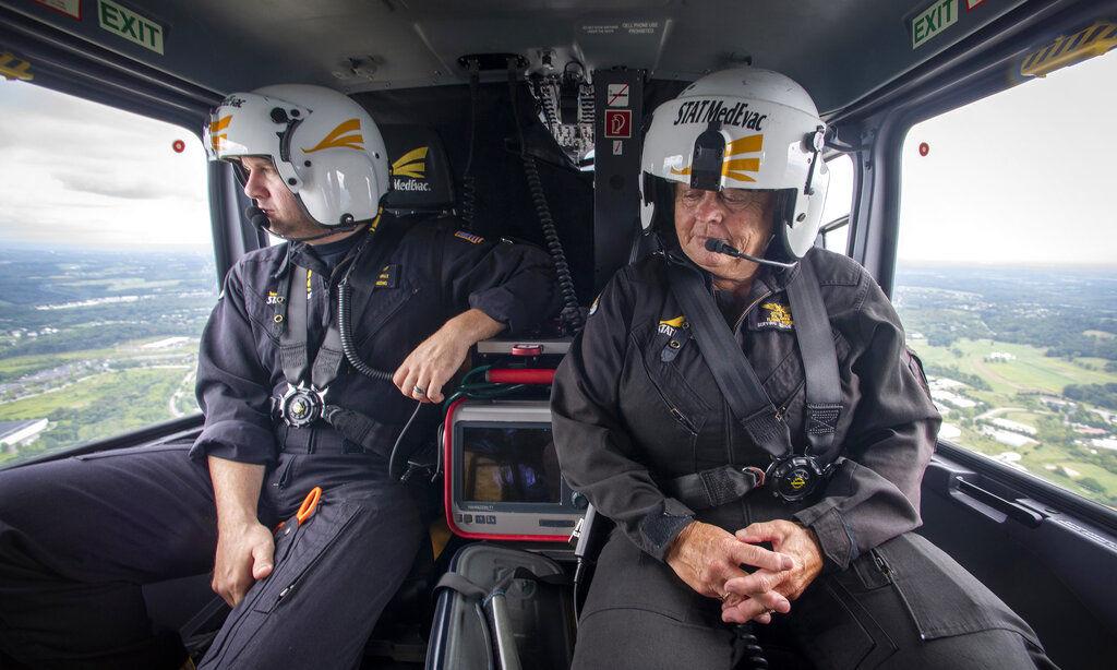 Exchange-Lifesaving Helicopters