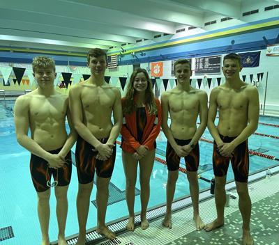 Sharon swimmers