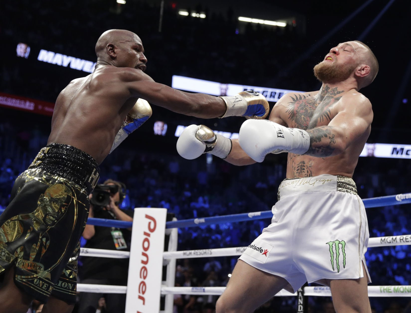 Floyd Mayweather fulfilled promise very few expected against Conor McGregor