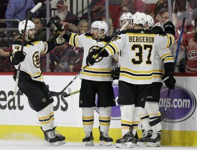 Bruins Hurricanes Hockey