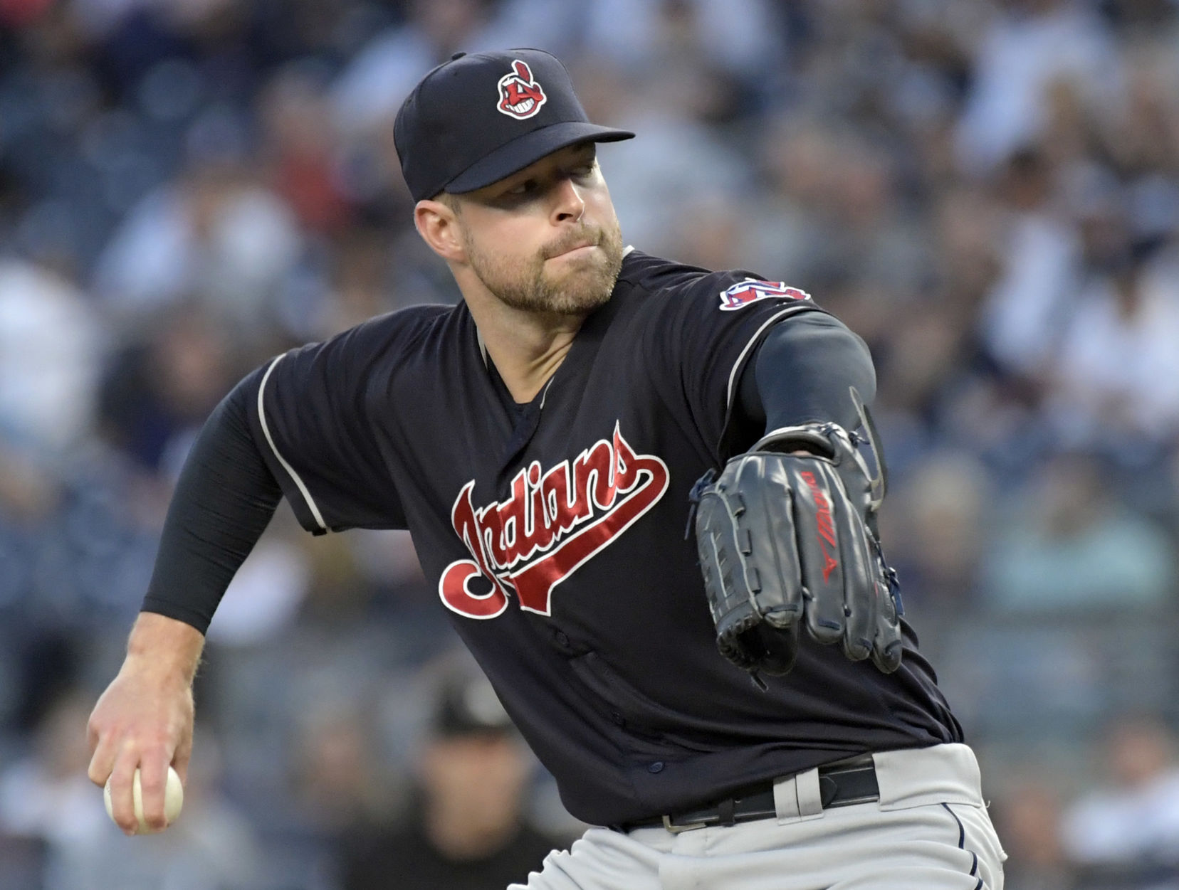 Kluber aces Severino; Ramirez powers Indians past Yanks 6-2