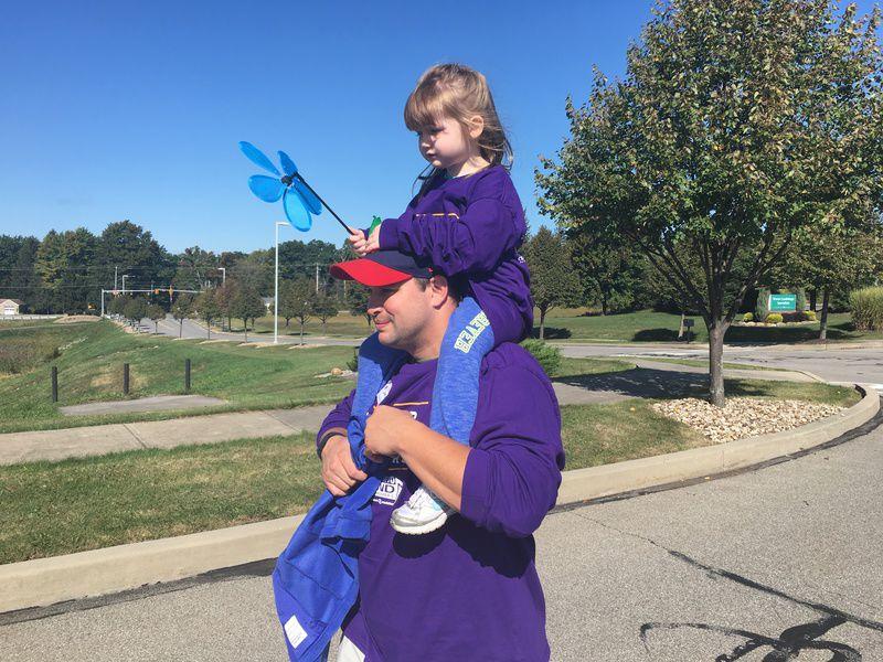 Locals walk at LindenPointe to end Alzheimer's