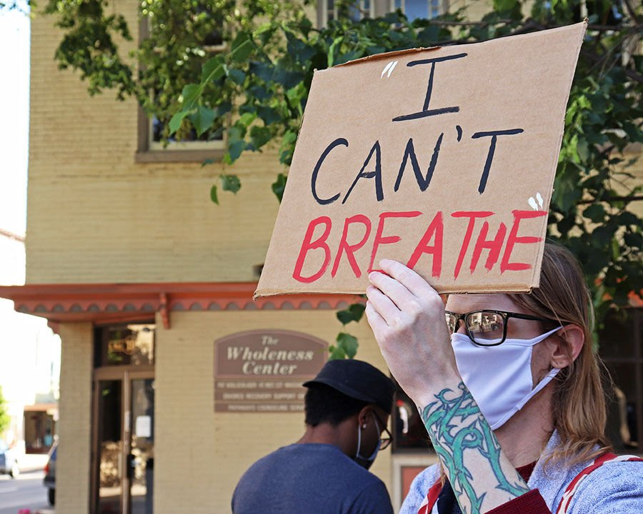 Chambersburg Protest - I Can't Breathe
