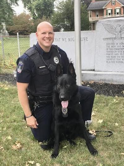 Officer Shawn Gutshall & K-9 Lock