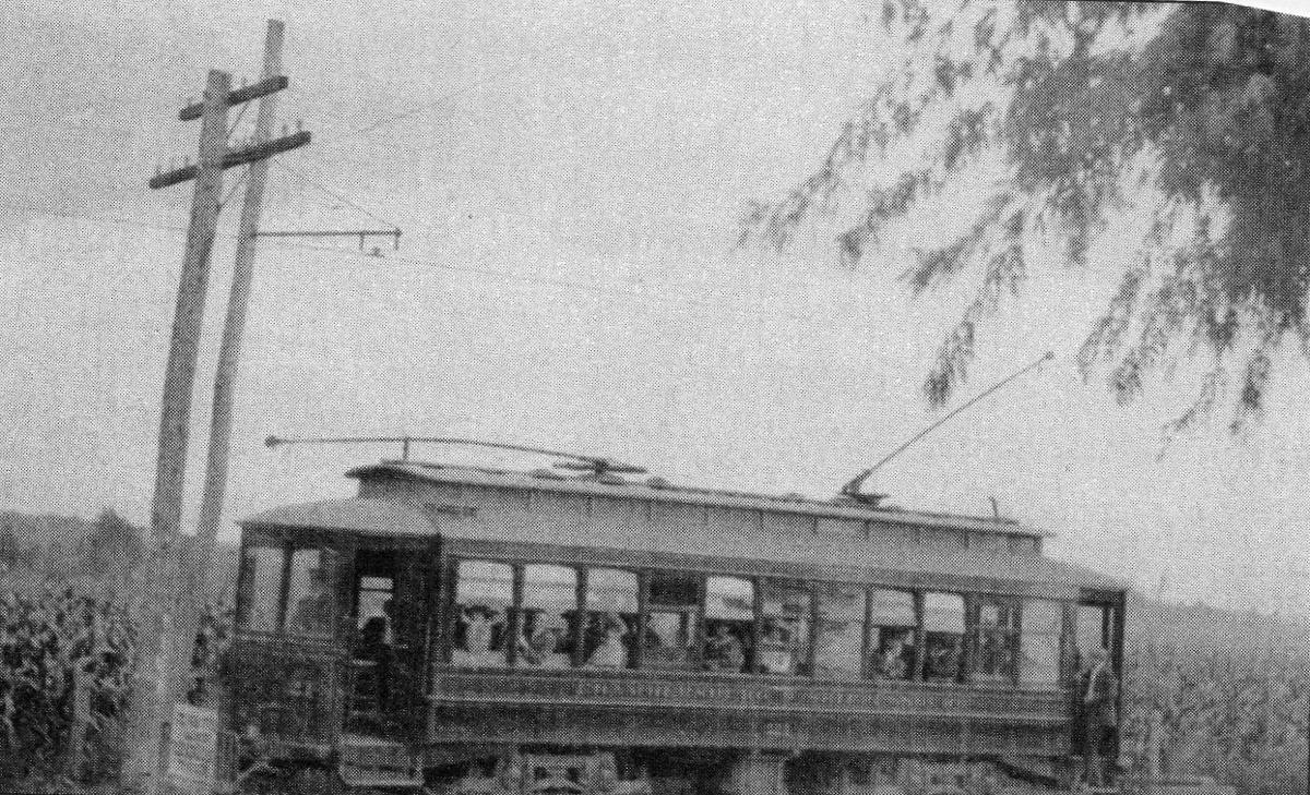 The Chambersburg-Shippensburg Trolley