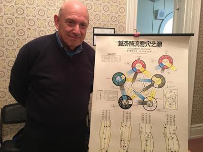 Acupuncturist Michael Stilp