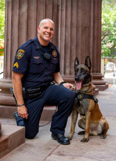 Officer Shawn Gutshall & Thor