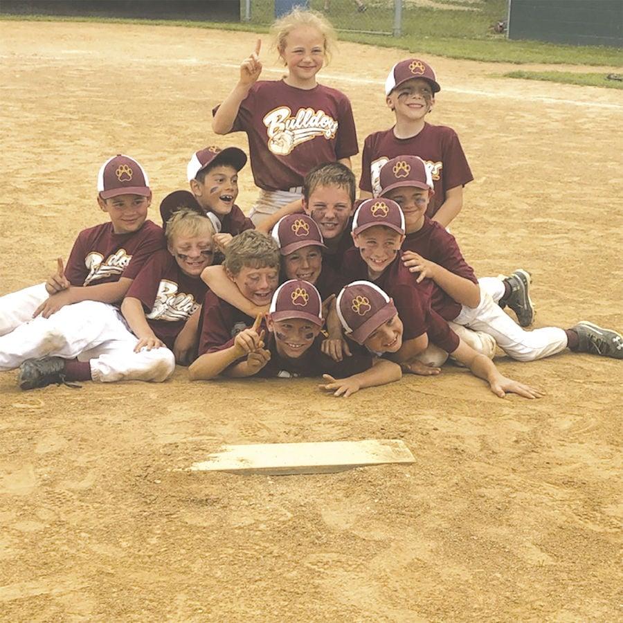 Big Spring Bulldogs 8U Baseball Team