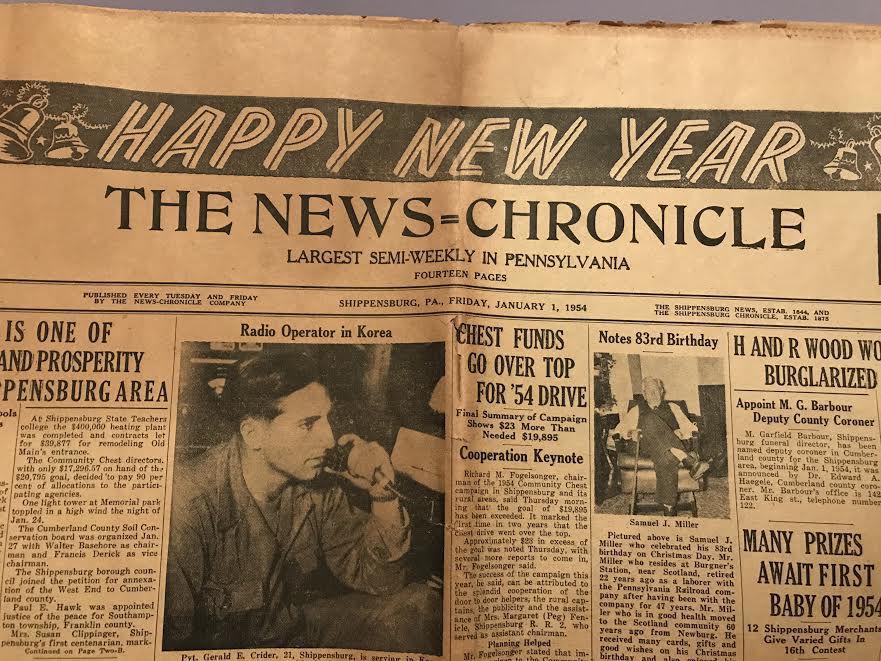 1954 News-Chronicle