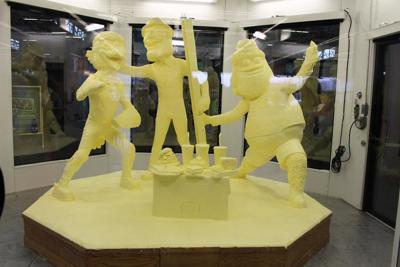 Pennsylvania Farm Show Butter Sculpture