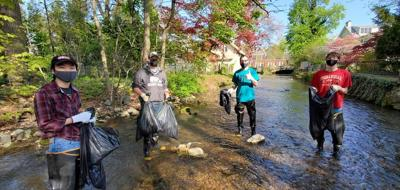 ShipShape Day Stream Cleanup