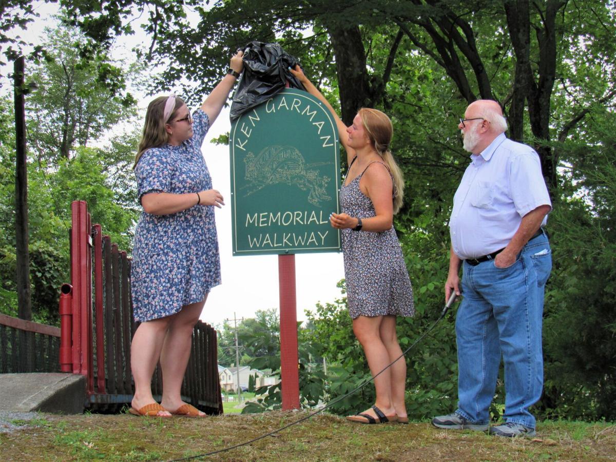 Ken Garman Memorial Walkway